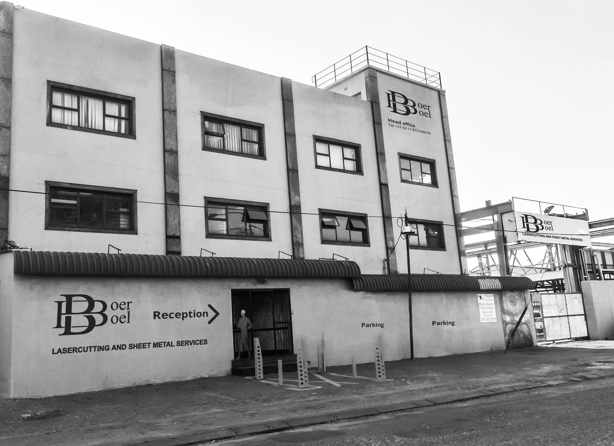 BoerBoel Lasercutting and Sheet Metal Fabrication - Office Building
