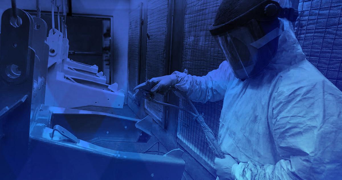 BoerBoel Lasercutting and Sheet Metal Services - Powdercoat Painting